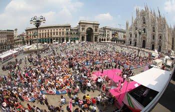 Giro d'Italia  2010 не заедет в Милан