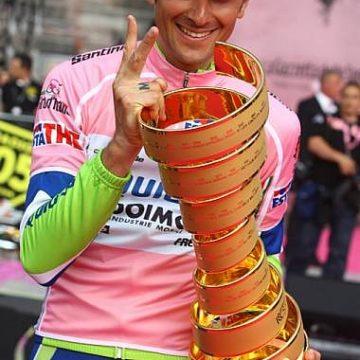 Джиро д'Италия 2010 чествование победителей
