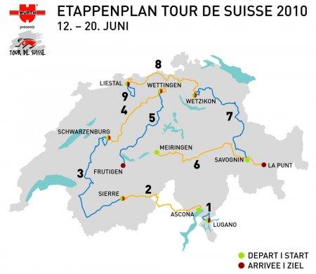 Тур Швейцарии 2010 скачать