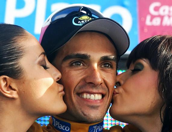 Контадор расчитывает победить на Дофине.