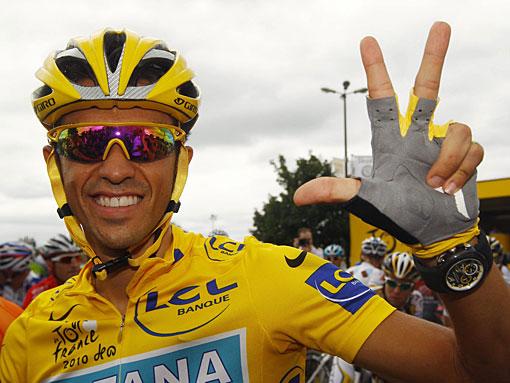 Альберто Контадора уличили в применении допинга.