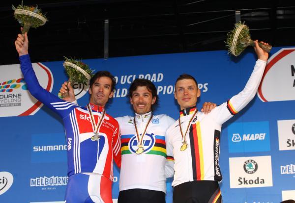 Чемпионат мира 2010 Time Trial Elite Men