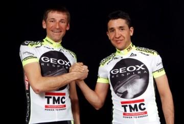 Team Geox — TMC завершает подготовку к Джиро