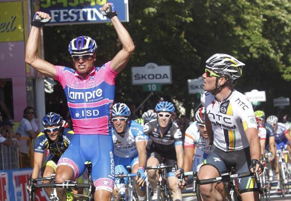 Giro D'Italia 2011 2 этап