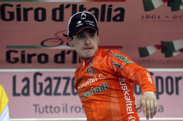 Игор Антон принёс первую победу Euskaltel-Euskadi на этапах Giro d'Italia