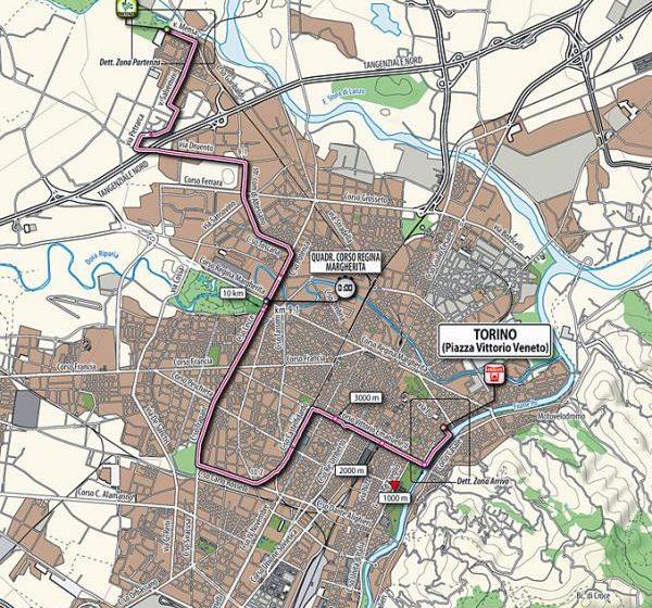 Giro D'Italia 2011 маршрут и профиль всех этапов