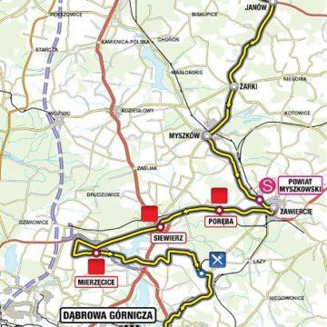 Тур Польши 2011 2 этап превью