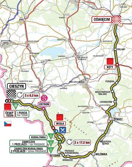Тур Польши 2011 4 этап превью