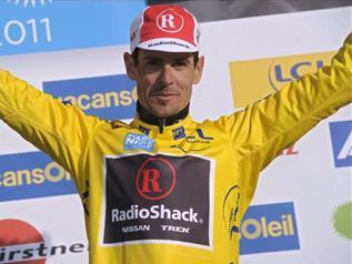 Андреас Клёден (RadioShack) продолжает своё выступление на Тур де Франс