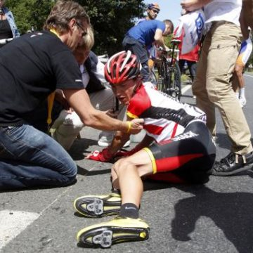 Tour de France 2011   Тур де Франс 2011 5 этап результаты