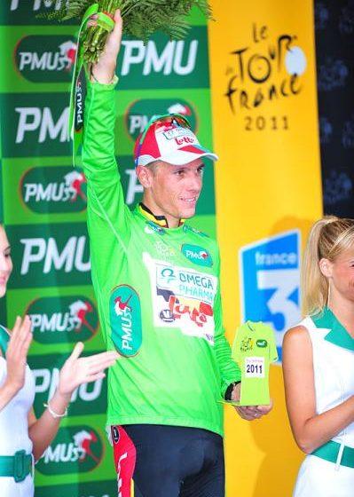 Филипп Жильбер продолжает носить зелёную майку