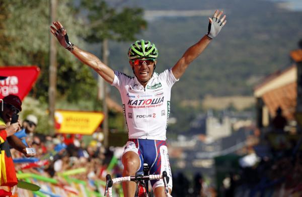 Вуэльта / Vuelta 2011 8 этап результаты