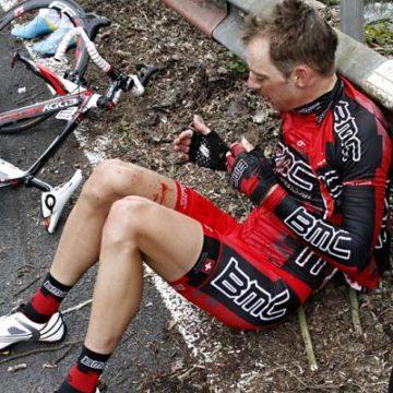 Карстен Крун — один из сошедших с Вуэльты 2011