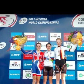 Чемпионат Мира по велоспорту на шоссе 2011 Женщины юниорки результаты гонки с раздельным стартом
