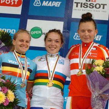 Чемпионат Мира по велоспорту на шоссе 2011 Женщины юниорки результаты групповой  гонки