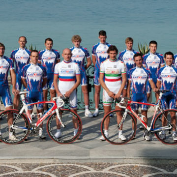 Новые гонщики Катюши в 2012 году