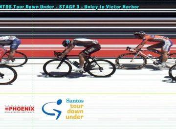 Тур Даун Андер/Santos Tour Down Under 2012 3 этап