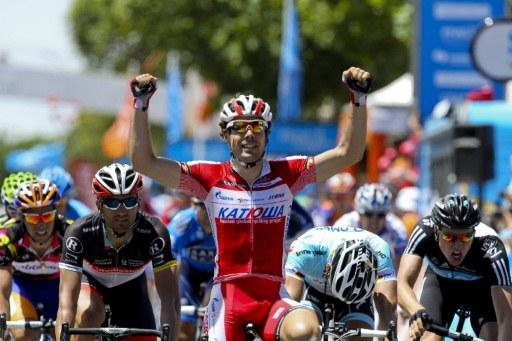 Тур Даун Андер/Santos Tour Down Under 2012 4 этап
