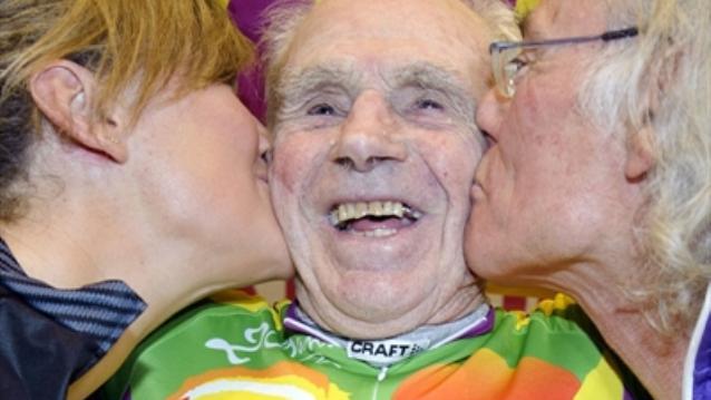 Столетний француз установил мировой рекорд в своей возрастной категории