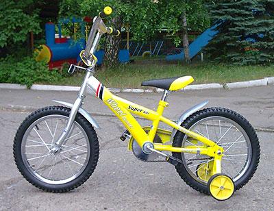 Велосипед детский Weel Runner B1624
