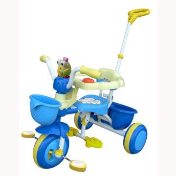 Детский велосипед трехколесный с игрушкой TCV T100-01