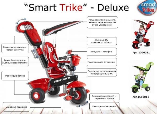 Велосипед Smart Trike Deluxe 3 в 1