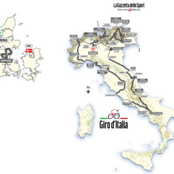 Маршрут Джиро д'Италия/Giro D'Italia 2012