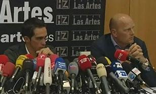Альберто Контадор провел пресс-конференцию
