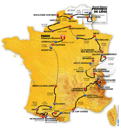 Тур де Франс/Tour de France 2012 Превью