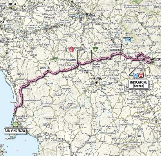 Тиррено — Адриатико/Tirreno-Adriatico 2012 2 этап превью