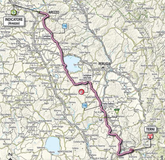 Тиррено — Адриатико/Tirreno-Adriatico 2012 3 этап  Превью