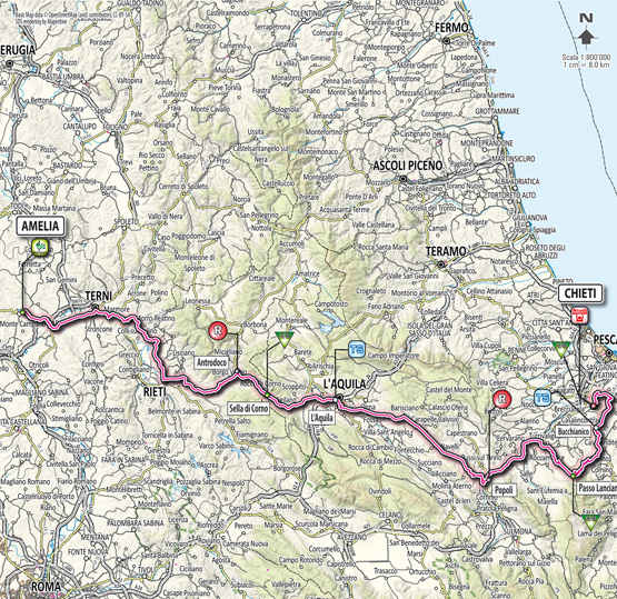 Тиррено — Адриатико/Tirreno-Adriatico 2012 4 этап  Превью