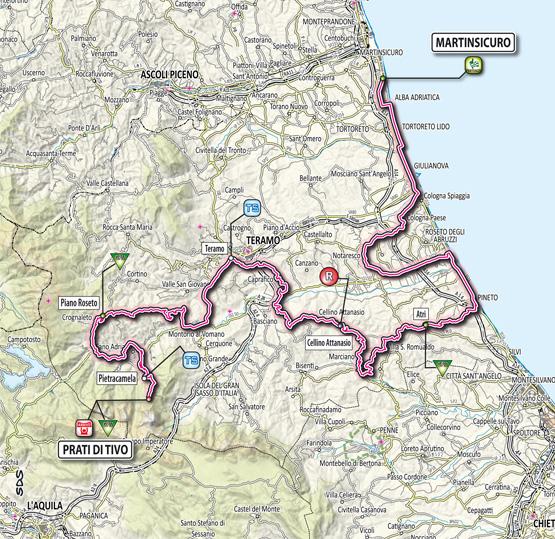 Тиррено — Адриатико/Tirreno-Adriatico 2012 5 этап  Превью
