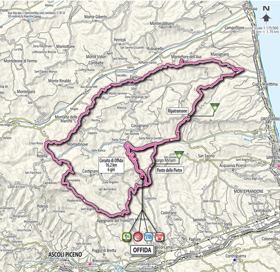 Тиррено — Адриатико/Tirreno-Adriatico 2012 6 этап  Превью