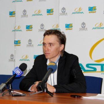 Максим Иглинский провёл пресс-конференцию
