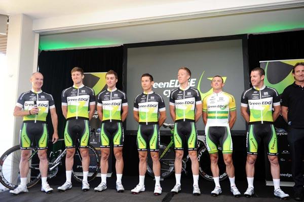 Состав GreenEdge на Джиро д'Италия/Giro d'Italia 2012