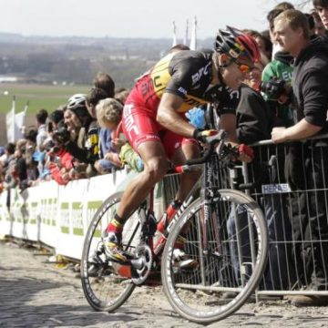 Очередной провал Филиппа Жильбера на Туре Фландрии/Tour of Flanders 2012