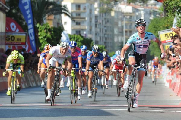 Ильё Кайссе упал на 7 этапе Тура Турции/Tour of Turkey 2012