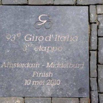 В Миддельбурге заложили мемориальную доску в честь Воутера Вейланда