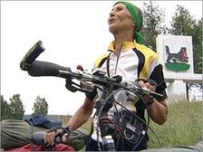 71-летняя велосипедистка повторит путь русской армии 1812 года
