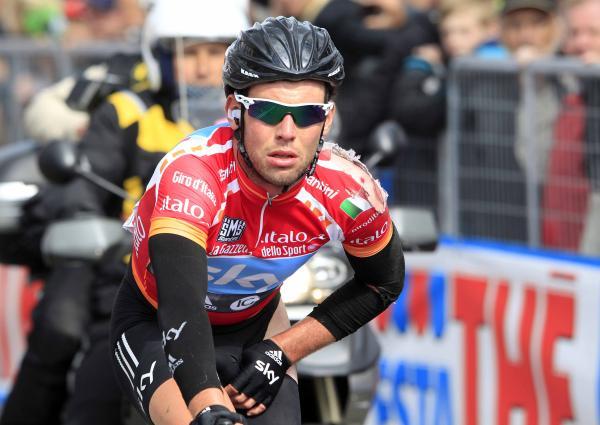 Марк Кавендиш упал на 3 этапе Джиро д'Италия/Giro d'Italia 2012