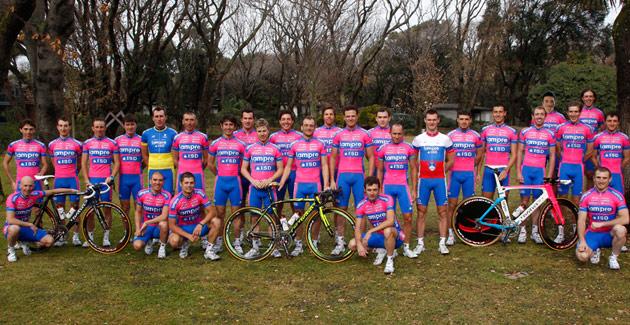 Состав Lampre-ISD на Джиро д'Италия/Giro d'Italia 2012