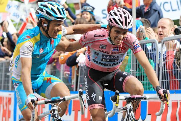Паоло Тиралонго посвятил вторую победу на Джиро д'Италия Альберто Контадору