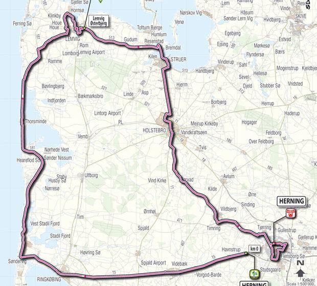 Джиро д'Италия/Giro D'Italia 2012 2 этап превью