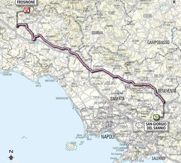 Джиро д'Италия/Giro d'Italia 2012 9 этап превью