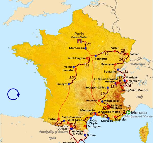 История Тур де Франс/Tour de France 2009