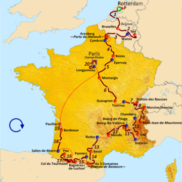 История Тур де Франс/Tour de France 2010