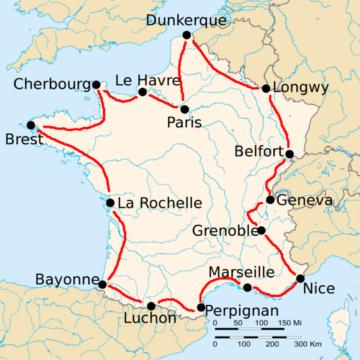 История Тур де Франс/Tour de France 1914