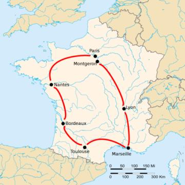 История Тур де Франс/Tour de France 1903
