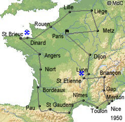 История Тур де Франс/Tour de France 1950